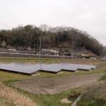 ソーラーパネルがここにも設置されている